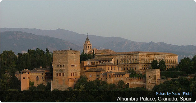 Stunning Alhambra Palace in Granada