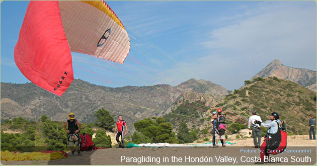 Hang Gliding in the Costa Blanca South